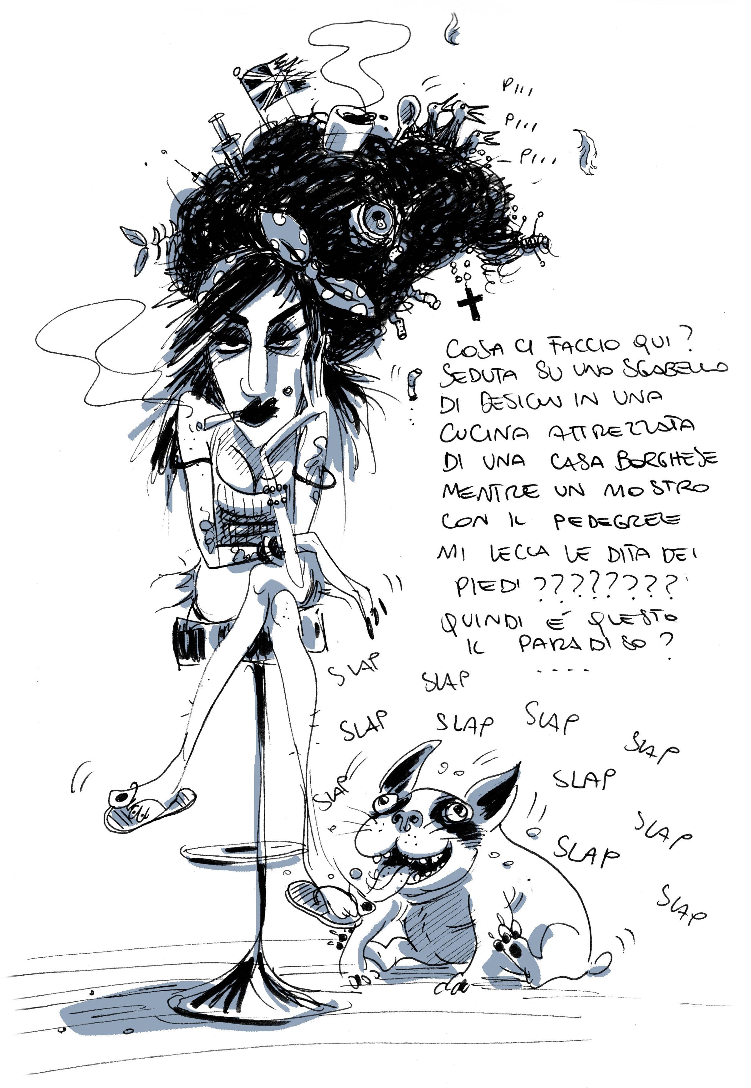 Amy Winehouse pompino